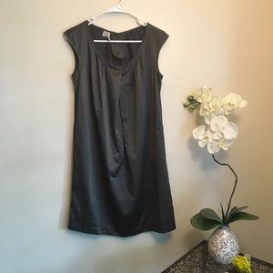 ◽️Old Navy Silk Gray Shift Dress